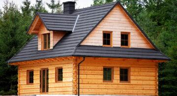 Træhuse bygger miljøvenlige huse ved at bruge CO2 neutrale materialer